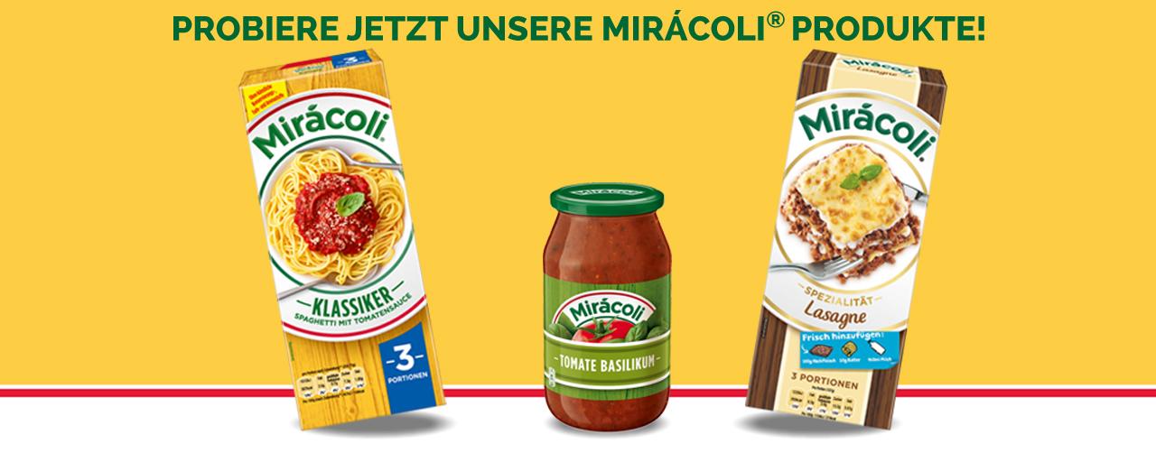 Miracoli Online-Shop