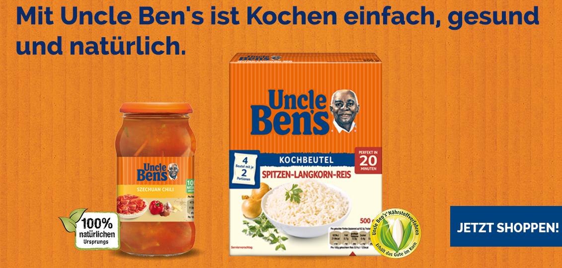 Uncle Ben's Online-Shop