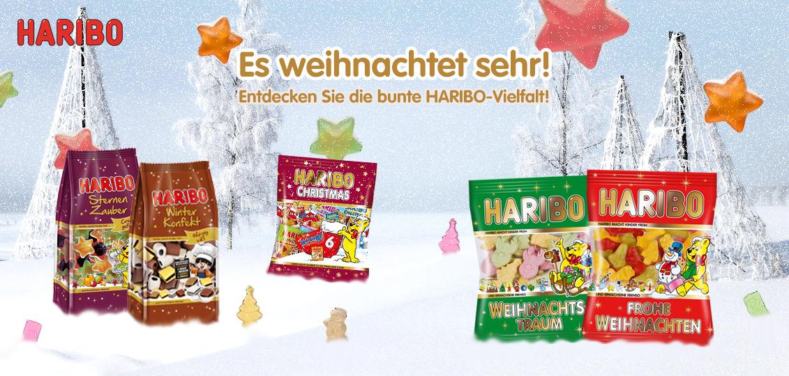 HARIBO Online-Shop Weihnachten 2016
