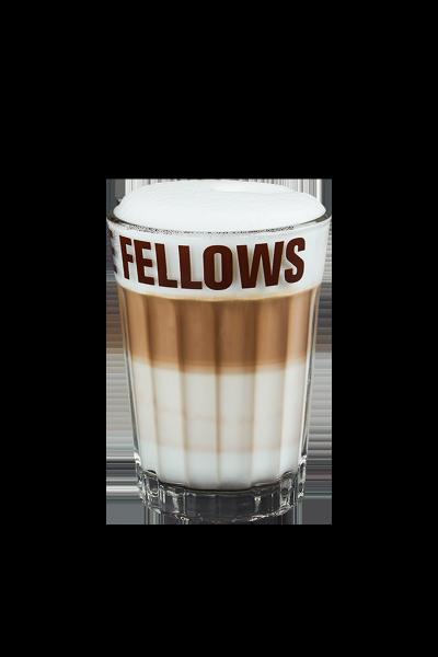 Coffee Fellows Latte Macchiato Glas 250ml