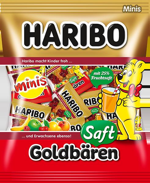 Saft Goldbären Minis 220g