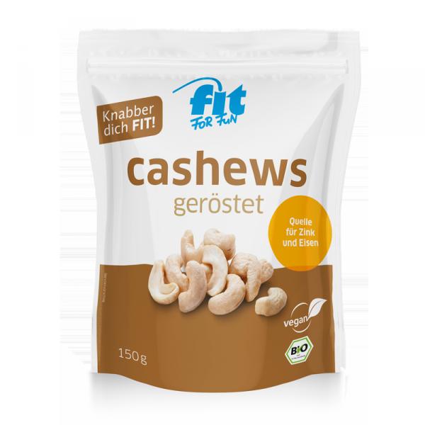 FITFORFUN BIO Cashews geröstet