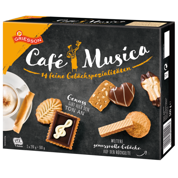 "Griesson Cafe Musica Geb""ckmischung 500g"